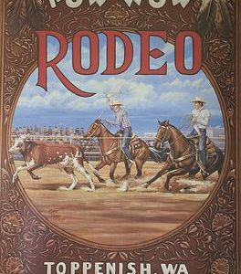 1997 Toppenish Rodeo and Pow Wow Poster by Gary Kerby